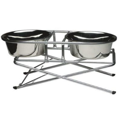 Buy Tri-Stage Stainless Steel Double Diner Dog Dish online in Canada