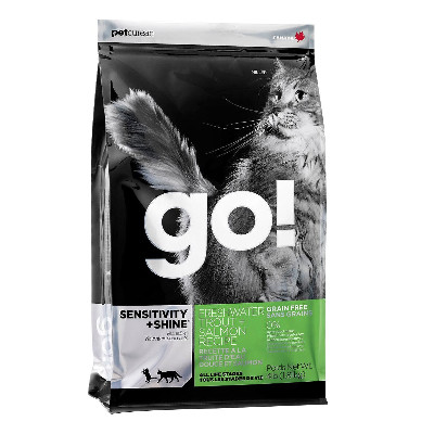 Buy GO! Sensitivity + Shine Freshwater Trout and Salmon Cat Food