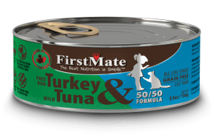FIRST MATE Cat Food - Canned - Indoor Cat and Diet Food - Grain Free - For All Ages