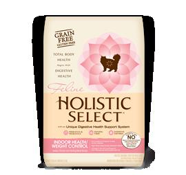 HOLISTIC SELECT Adult Cat Food - GRAIN FREE Indoor and Weight Control