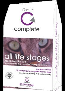 HORIZON Complete Diet Cat Food for All Ages