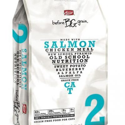 MERRICK Before Grain Salmon Cat Food - Grain Free for All Ages