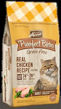 MERRICK Grain Free Adult Cat Food - Chicken (Purrfect Bistro)