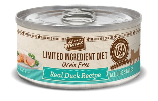 Merrick LID ( Limited Ingredient Diet) Grain Free Canned Cat Food (Sold by the Case) - All Flavours for All Ages