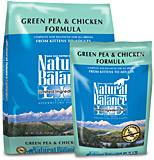 NATURAL BALANCE L.I.D. Limited Ingredient Grain Free Cat Food - Pea and Chicken - for All Ages