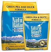 NATURAL BALANCE L.I.D. Limited Ingredient Grain Free Cat Food Pea and Duck - for All Ages
