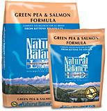 NATURAL BALANCE L.I.D. Limited Ingredient Grain Free Cat Food pea and Salmon - for All Ages