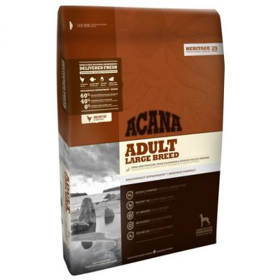Buy Acana Heritage Adult Large Breed Grain Free Dry Dog Food