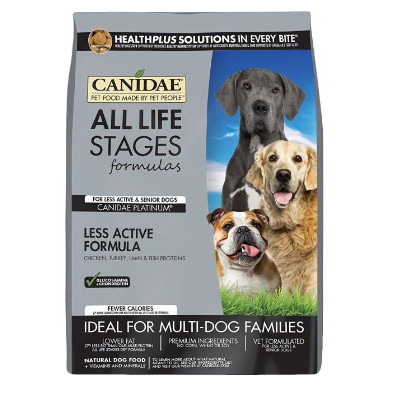 Buy Canidae Platinum Dog Food - Senior and Weight Management