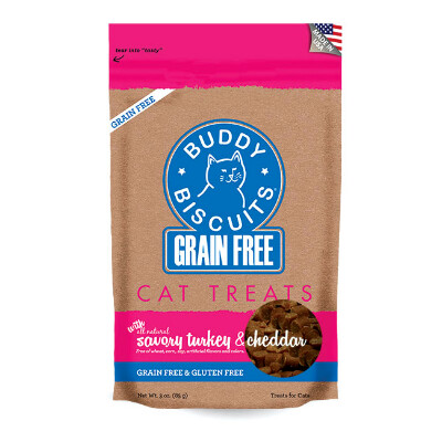 buy Cloud-Star-Buddy-Biscuits-Grain-Free-Buddy-Biscuits-For-Cats-Savory-Turkey-Cheddar