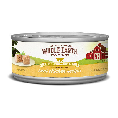 buy Merrick-Whole-Earth-Farms-Chicken-Canned-Cat-Food
