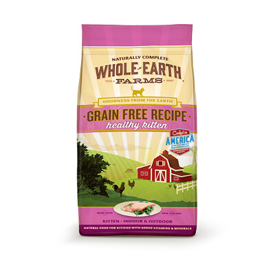 buy Whole-Earth-Farms-Dry-Kitten-Food