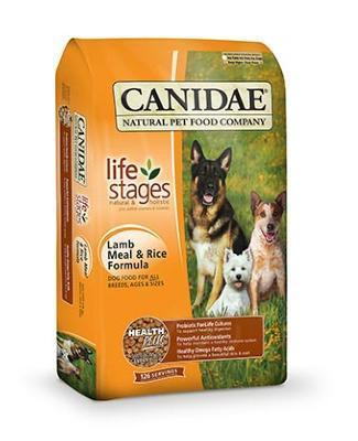 CANIDAE Dog Food (Lamb and Rice Formula)- for All Life Stages
