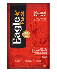 EAGLE PACK Large Breed and Giant Breed Adult Dog Food