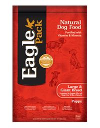 EAGLE PACK Large Breed and Giant Breed Puppy Dog Food