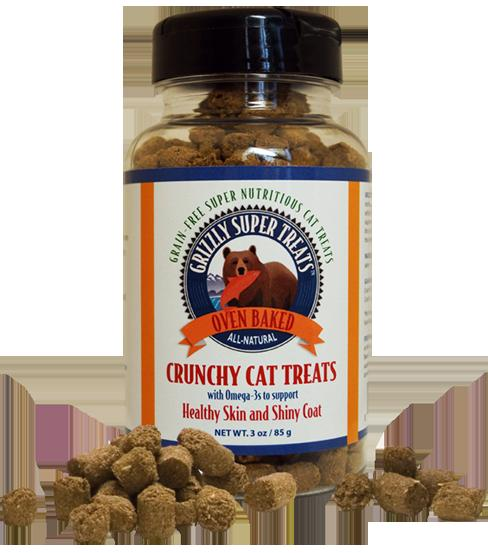 GRIZZLY Super Treats for Cats Wild Salmon