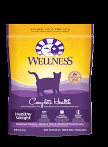 WELLNESS COMPLETE HEALTH Healthy Weight Adult Dry Indoor Cat and Diet Food