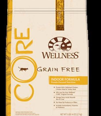 WELLNESS CORE GRAIN FREE Indoor Cat and Diet Food for All Ages