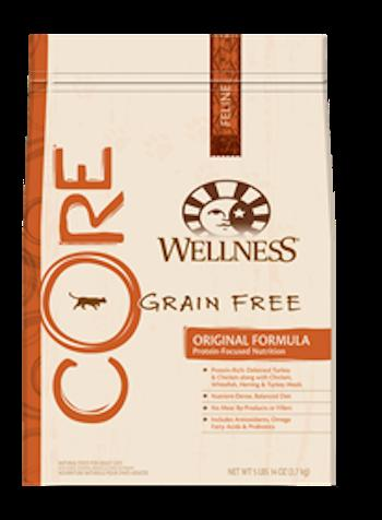 WELLNESS CORE GRAIN FREE Original Dry Cat Food for All Ages