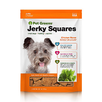 buy Bell-Rock-Pet-Greens-Jerky-Dog-Treats-Roasted-Chicken