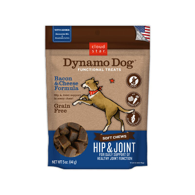 buy Cloud-Star-Dynamo-Soft-Chews-Hip-And-Joint-Bacon-And-Cheese-For-Dogs-2