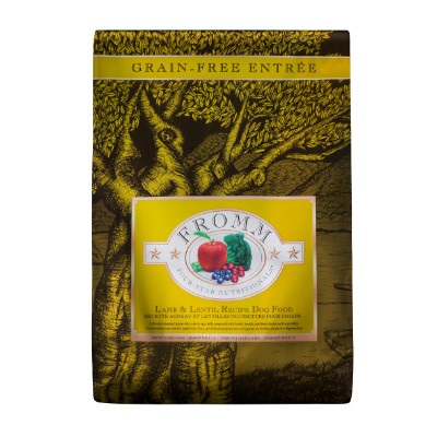 buy Fromm Four Star Ultra Premium Grain-Free Dog Lamb And Lentil Recipe
