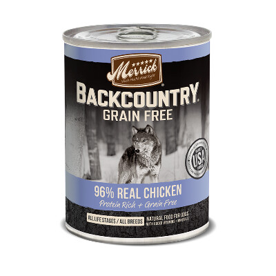 buy Merrick-Back-Country-96-Chicken-Canned-Dog-Food