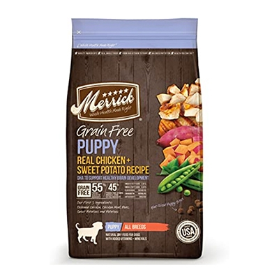 buy Merrick-Chicken-and-Sweet-Potato-Dry-Puppy-Food