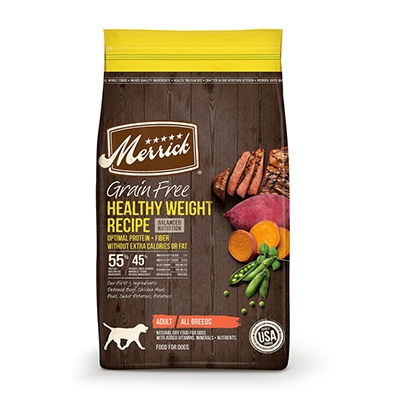 buy Merrick-Healthy-Weight-Dry-Dog-Food
