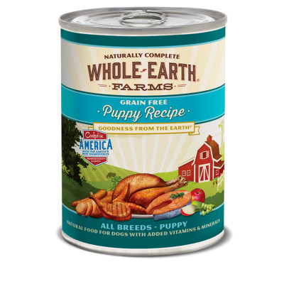 buy whole-earth-farms-canned-puppy-food