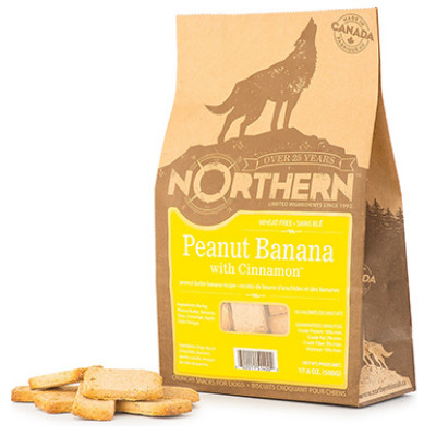 buy Northern Biscuit Canadian Dog Treats Peanut Banana Cinnamon