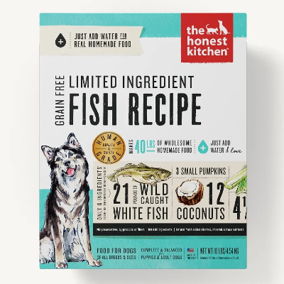 Buy The Honest Kitchen Limited Ingredient Fish & Coconut Dog Food