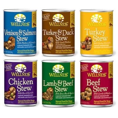 Buy Wellness Stews Canned Dog Food - All Flavours