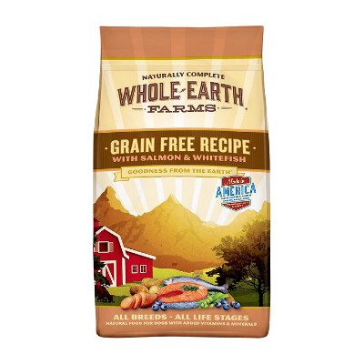 buy Whole-Earth-Farms-Salmon-and-Whitefish-Dry-Dog-Food