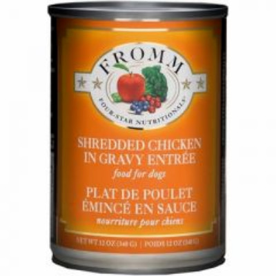 buy fromm-four-star-dog-food-shredded-chicken