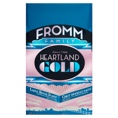 buy fromm-grain-free-heartland-large-breed-gold-puppy-dog-food