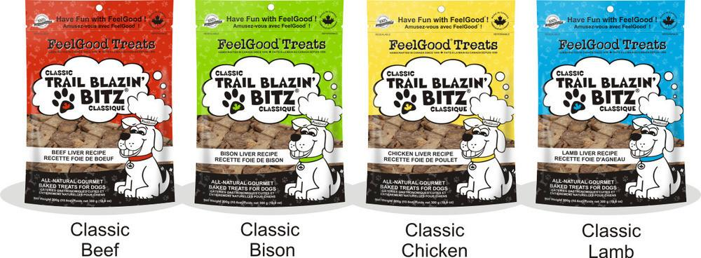 FEELGOOD Classic Trail Blazin' Bitz - Beef / Bison / Chicken / Lamb