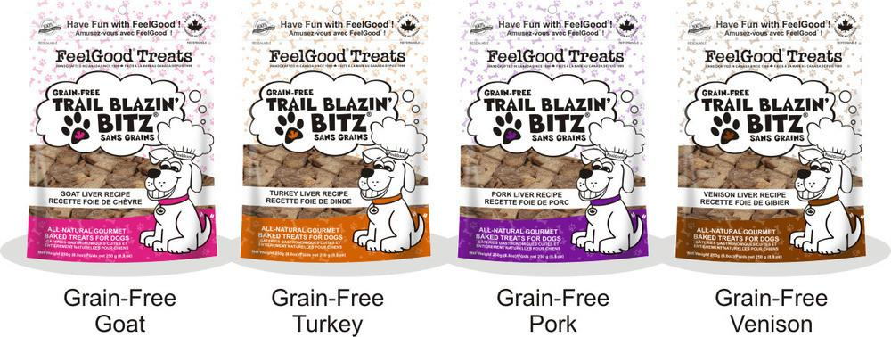 FEELGOOD Grain Free Trail Blazin' Bitz - Goat / Pork / Turkey / Venison