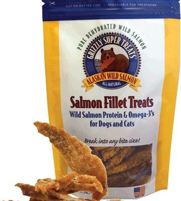 GRIZZLY Salmon Filets - Treats for Dogs and cats