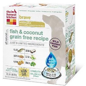 Honest Kitchen The Brave Limited Ingredient Fish And Coconut Grain Free Dog Food For All Life Stages