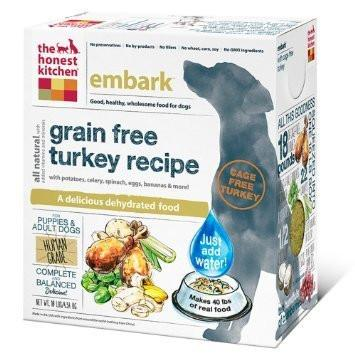 "HONEST KITCHEN (THE) ""Embark"" Turkey and Grain Free Dog Food for All Life Stages"
