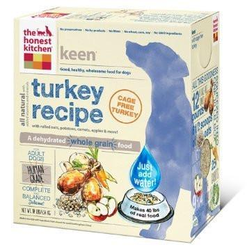 "HONEST KITCHEN (THE) ""Keen"" Turkey & Organic Grain Dog Food for All Life Stages"