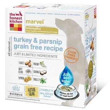 "HONEST KITCHEN (THE) ""Marvel"" Limited Ingredient Turkey & Parsnip Grain Free Dog Foor for All Life Stages"