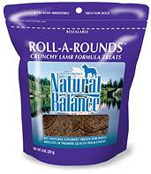 NATURAL BALANCE Roll-A-Rounds Treats for Dogs