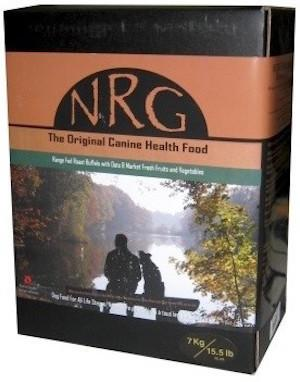 NRG Original Dog Food (Beef / Buffalo / Chicken / Range Fed Buffalo / Salmon) for All Life Stages