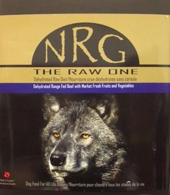 NRG Raw One Dog Food for All Life Stages (Beef / Buffalo / Chicken / Salmon)