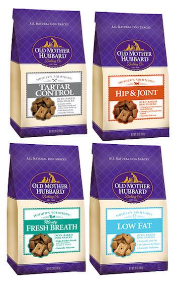 OLD MOTHER HUBBARD Crunchy Functional Biscuits - Hip & Joint, Tartar Control, Low Fat, Fresh Breath