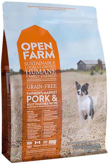 OPEN FARM Dry Dog Food - Farmer's Market Pork and Root Vegetables - Grain Free for All Life Stages
