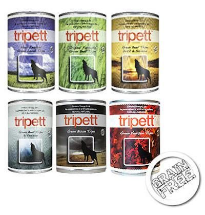 PetKind Tripett Tripe Canned Dog Food - Grain Free - for All Life Stages