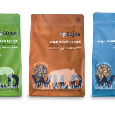 SOJOS Simply Wild - Freeze Dried Dog Food - Grain Free - for All Life Stages